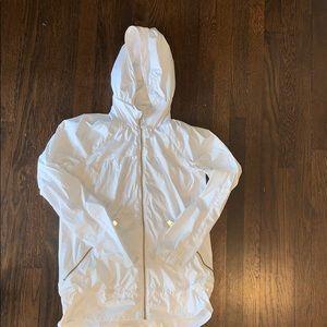 Lululemon white light jacket